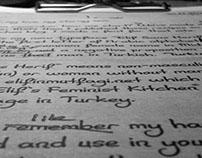 Elif Sans Herif (Typeface)