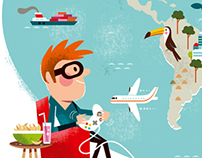 Migros editorial illustration