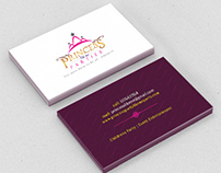 Princess like me Parties Branding