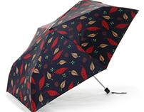 pine cone umbrella