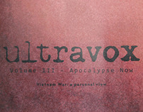 Ultravox [Vol. III: Apocalypse Now]