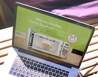 Apresentação - Micro-ondas Consul Espelhado