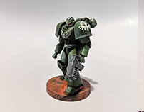 Warhammer 40k - 3D printed and painting