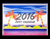2016 Juicy Calendar