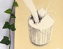 Kitchen themed illustrations