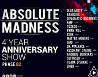 Tenzi FM presents Absolute Madness 4th Anniversary Show