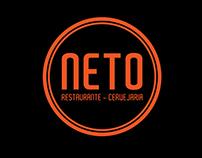 BRANDING FOR: NETO Restaurante Cervejaria