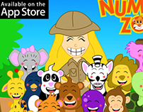 Number Zoo - Mobile App for kids
