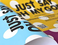Just say Oh My God — Ticket design | Visual identity