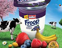 Muller Fruit Yoghurt
