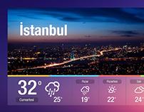 Weather App // Digital Signage