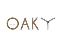 OAKY  - stool
