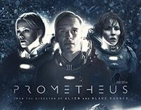 """Prometheus"" / fan art poster"