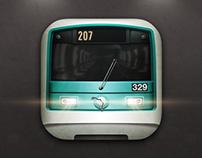 Metro de Paris iOS 7 Icon