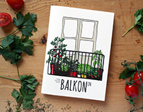 BALKONON / illustrated booklet