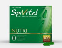 Spirulina Packaging Design Concepts
