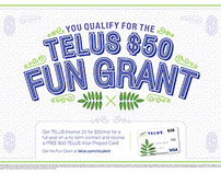 TELUS - Back to School Campaign