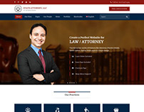 Attorney & Law | Lawyers WordPress Template