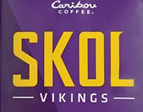 Caribou Coffee SKOL Vikings Blend