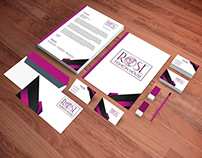 Rose fashion house logo & Brand Identity.