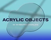 Acrylic Overlay Objects