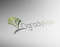 Logo dla firmy projektującej ogrody