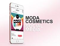 Moda Cosmetics Sosyal Medya