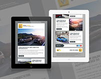 Renault - Newsletter Templates - LIVE WORK