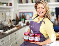 Beatos Virtuve. Tomato Sauce Labels+Lid