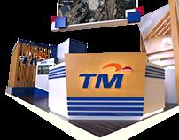 Telekom Malaysia Booth LIMA2017