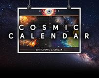 Cosmic Calendar [2018] — Cosmos: A Spacetime Odyssey
