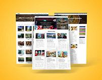 Webdesign for DMO - Destination Managment Organization