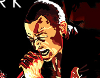 Linkin Park World Tour Poster