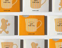 cama café   Mug Packaging & Gift Card Design