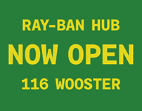 Ray-Ban: Get Creative at 116 Wooster