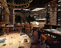 """""""BB Grill"""" restaurant' Moscow"""