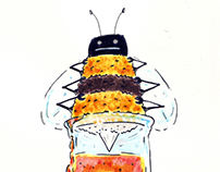 Honey Bee Pot