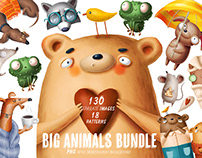 Big bundle of animals