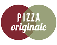 Student work - Pizza Originale corporate identity