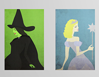 Wicked Illustrated Posters