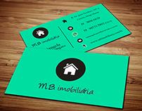 Comunicação visual - Imobiliária MB
