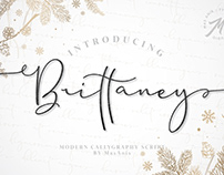 Free Font: Brittaney