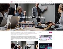 Blog Post Page - IT WordPress Theme