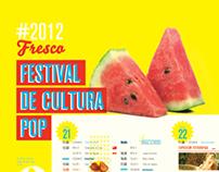 Fresco II - Festival de cultura pop