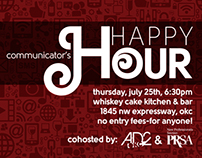 Ad2OKC Communicator's Happy Hour