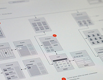 Website Flowchart & Sitemap for OmniGraffle
