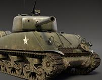 M4A3 76w Sherman Tank