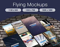 Flying Mockups!