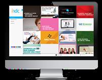 Design Web para IN Diseño & Comunicación