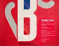 KUBA VA!  Graphikdesign zum Film aus Kuba